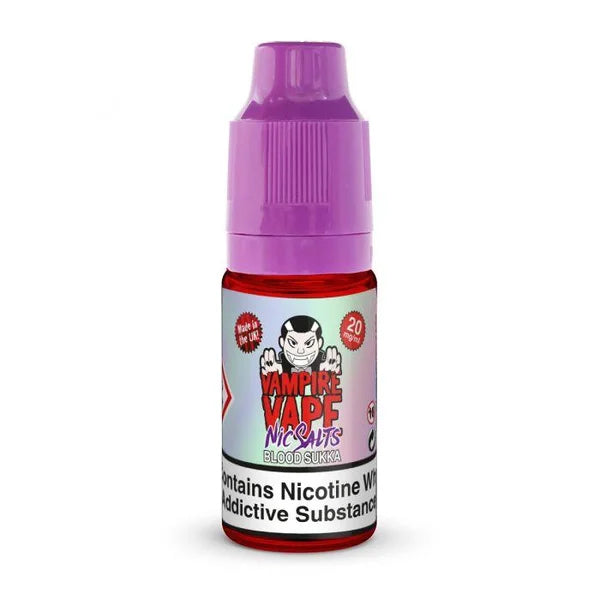 Blood Sukka Nic Salt by Vampire Vape