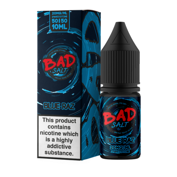 Blue Raz by Bad Salt-ManchesterVapeMan