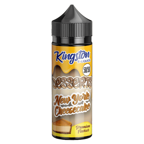 New York Cheesecake 50/50 by Kingston E-Liquid