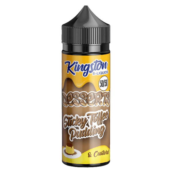 Sticky Toffee Pudding 50/50 by Kingston E-Liquid