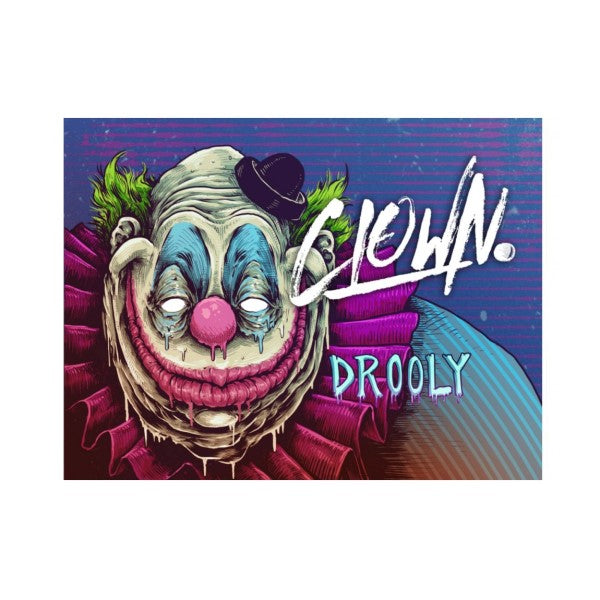 Clown E-Liquid Drooly 60ml Shortfill (3929525354590)