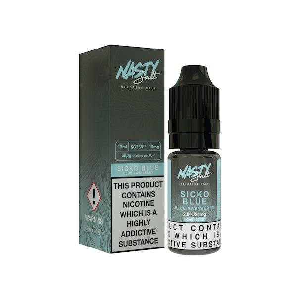 Sicko Blue Nic Salt by Nasty Juice