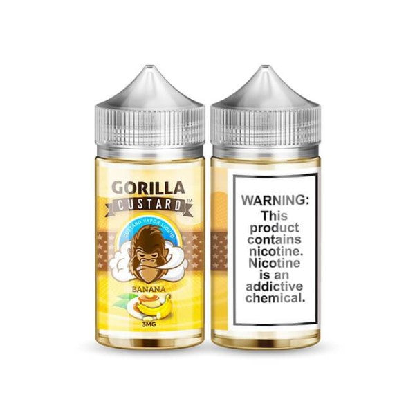 Gorilla Custard Banana 100ml (3617295499358)
