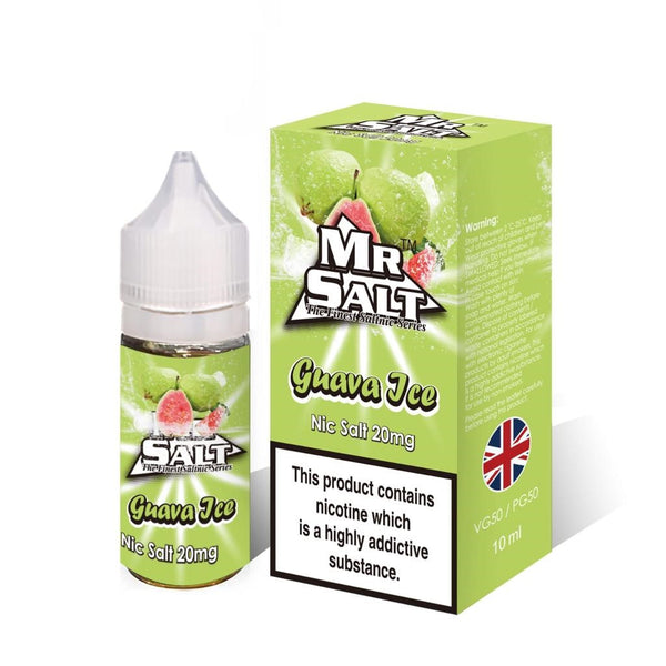 Guava Ice Nic Salt by Mr Salt-ManchesterVapeMan
