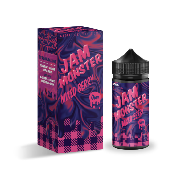 Mixed Berry by Jam Monster-ManchesterVapeMan