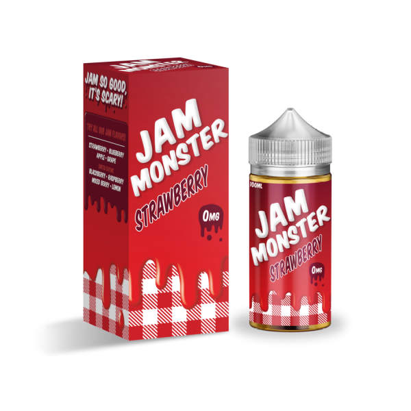 Strawberry by Jam Monster-ManchesterVapeMan