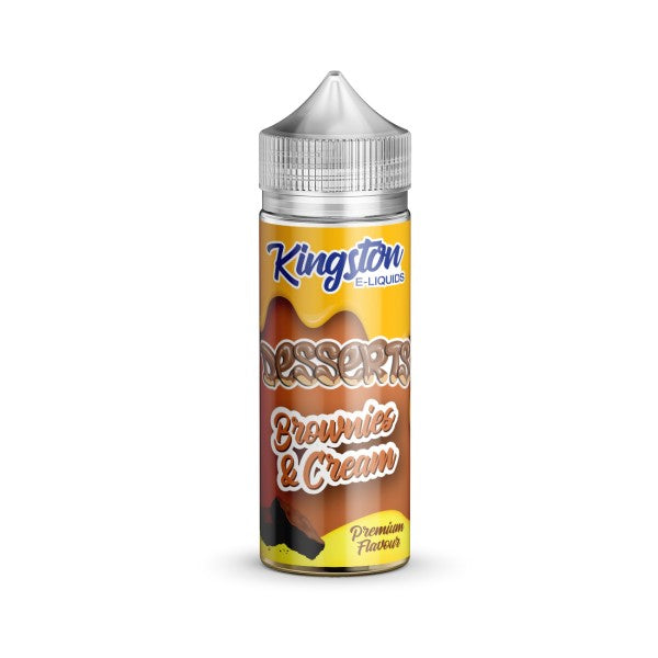 Brownies & Cream by Kingston E-Liquids