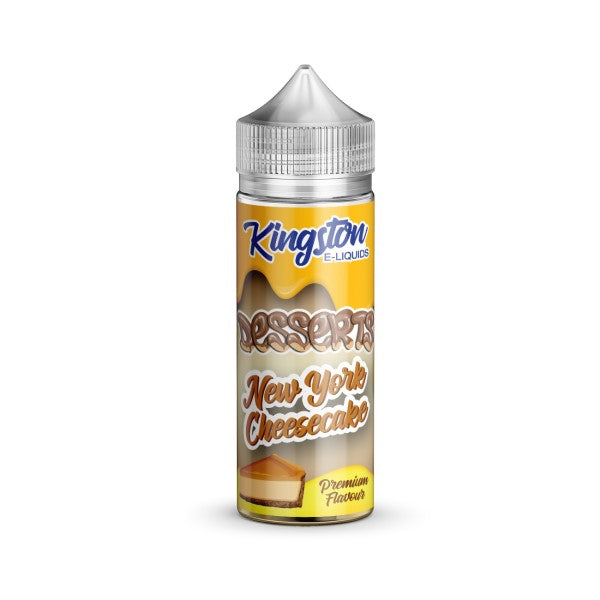 New York Cheesecake by Kingston E-Liquids-ManchesterVapeMan