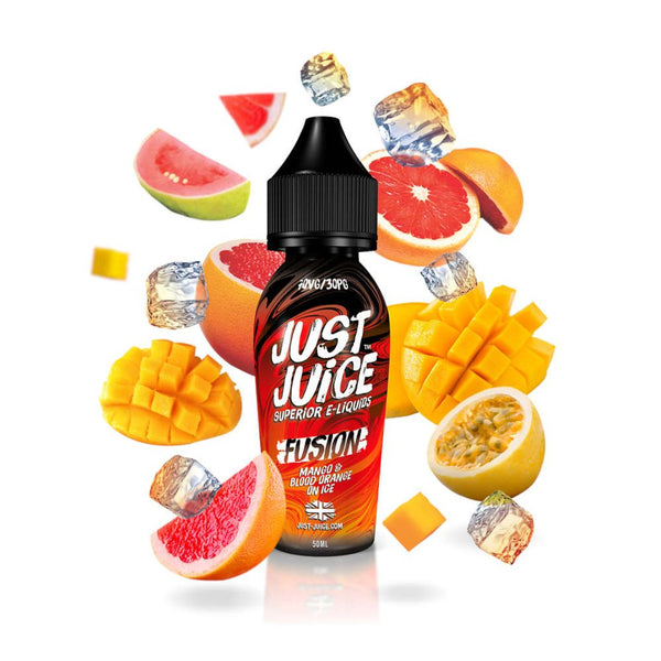 Mango & Blood Orange by Just Juice-ManchesterVapeMan