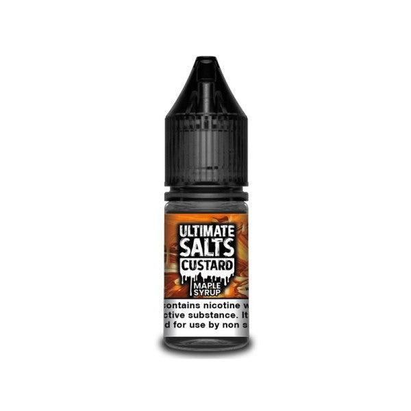 Maple Syrup Custard Nic Salt By Ultimate Salts