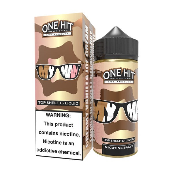 ONE HIT WONDER - MY MAN 100ML-ManchesterVapeMan