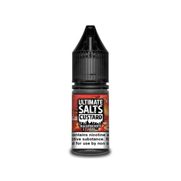 Raspberry Jam Custard Nic Salt By Ultimate Salts