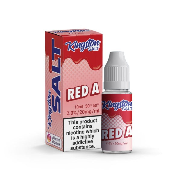 Red A by Kingston Salts-ManchesterVapeMan