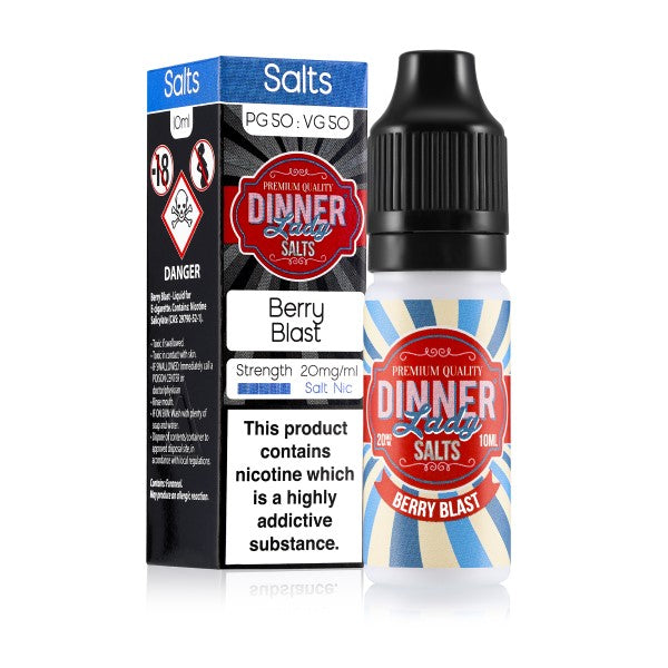 Berry Blast Nic Salt by Dinner Lady