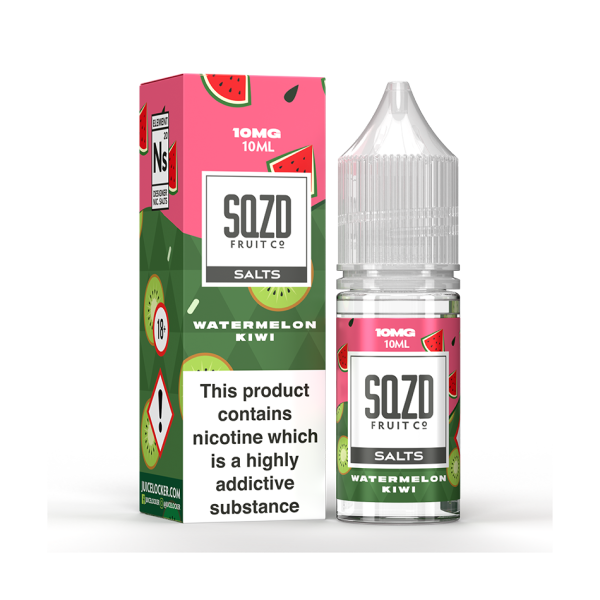 Watermelon Kiwi by SQZD Nic Salt