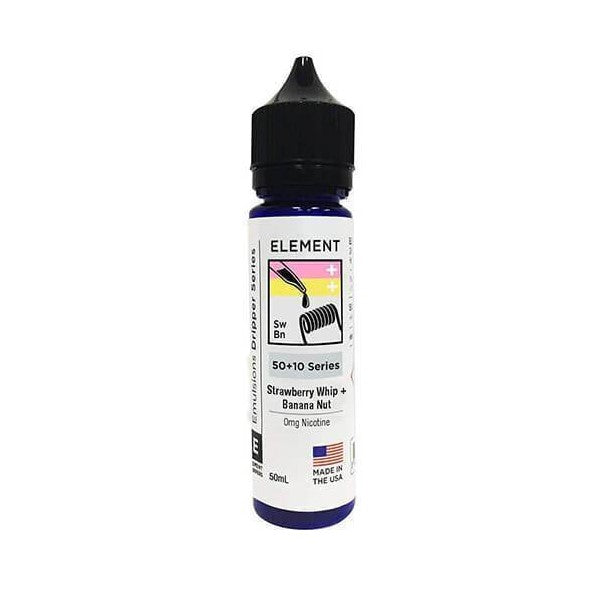 Strawberry Whip & Banana Nut by Element-ManchesterVapeMan