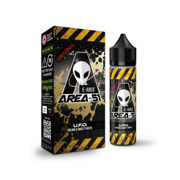 Area-51 E Liquid – U.F.O 50ml