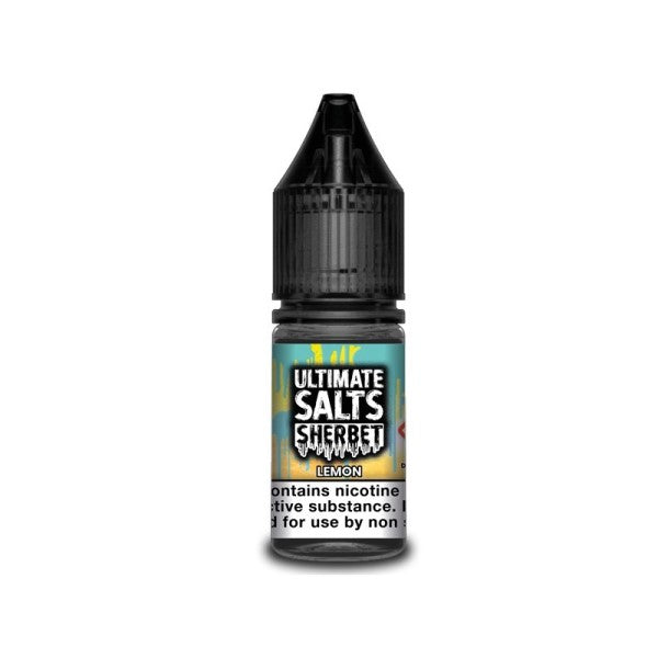 Lemon Sherbet Nic Salt By Ultimate Salts