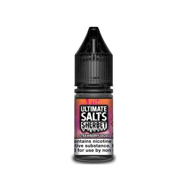 Strawberry Laces Sherbet Nic Salt By Ultimate Salts