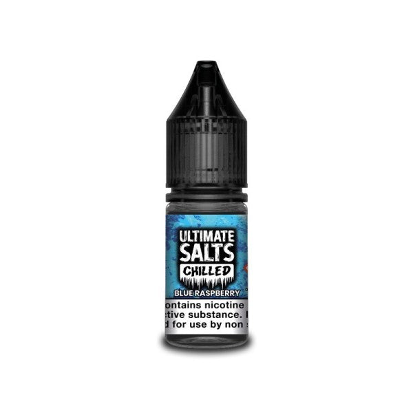 Blue Raspberry Chilled By Ultimate Salts-ManchesterVapeMan