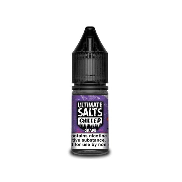 Grape Chilled Nic Salt By Ultimate Salts