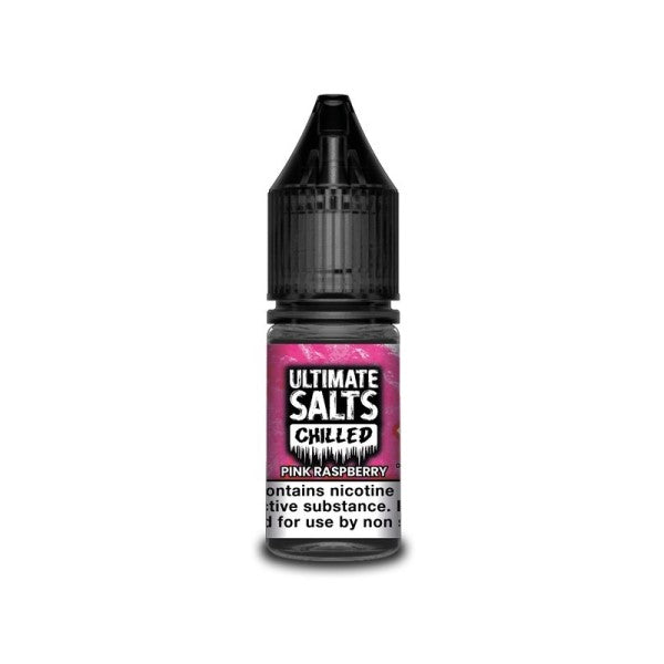 Pink Raspberry Chilled Nic Salt By Ultimate Salts