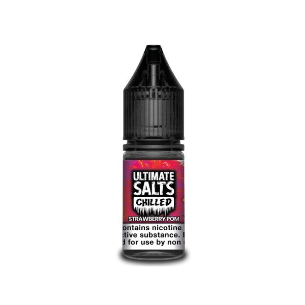 Strawberry Pom Chlled By Ultimate Salts-ManchesterVapeMan