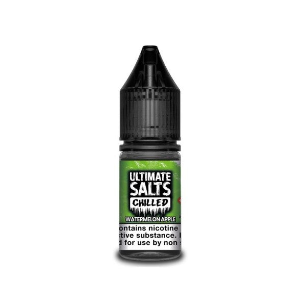 Watermelon Apple Chlled Nic Salt By Ultimate Salts