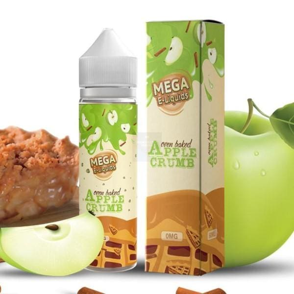 Apple Crumb By Mega E-Liquids 60Ml E-Liquid (374031286312)
