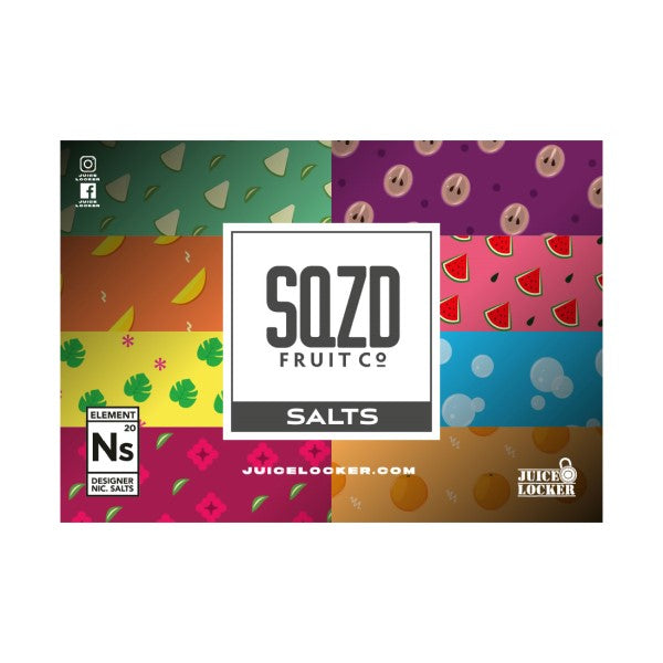 Strawberry Raspberry by SQZD Nic Salt