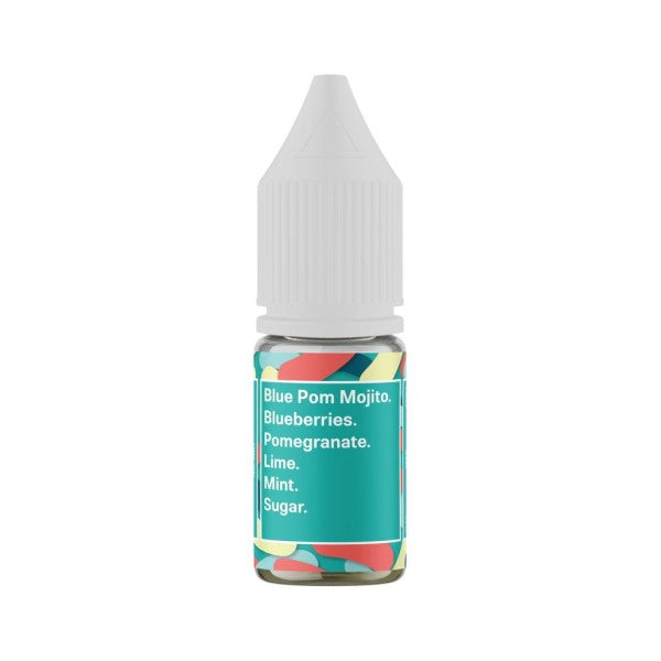 Blue Pom Mojito Nic Salt by Supergood.-ManchesterVapeMan