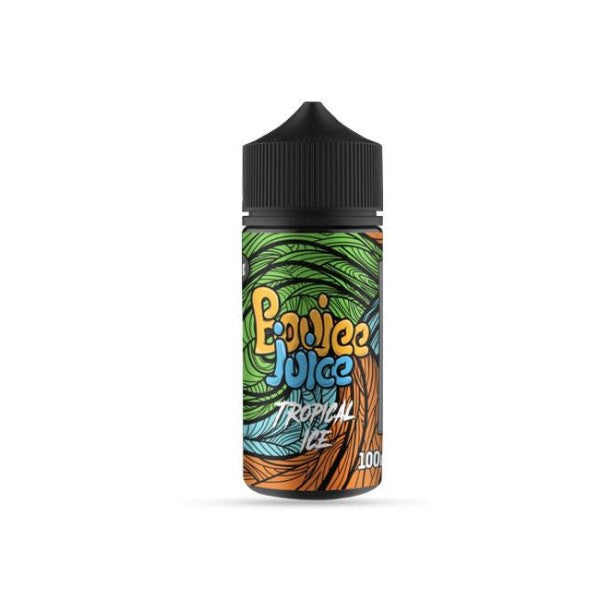 Boujee Juice Tropical Ice 100ml Shortfill (3927642865758)