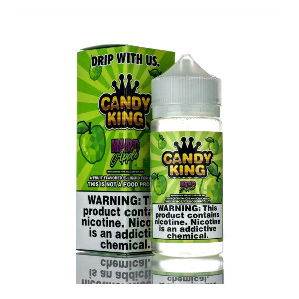Candy King Hard Apple 120ml Shortfill (3622517997662)