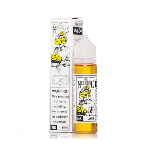 Charlies Chalk Dust - Mr Meringue 60Ml Shortfill E-Liquid (1596376481886)