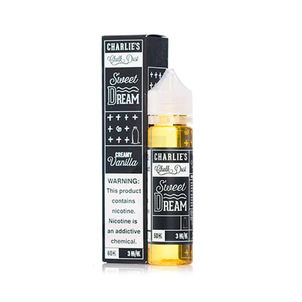 Charlies Chalk Dust - Sweet Dream (Formerly Cream) 60Ml Shortfill E-Liquid (1596373434462)