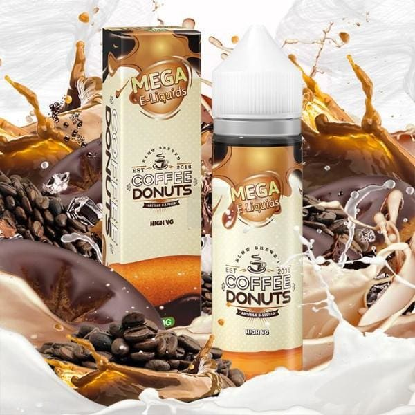 Coffee Donuts By Mega E-Liquids 60Ml E-Liquid (374048161832)