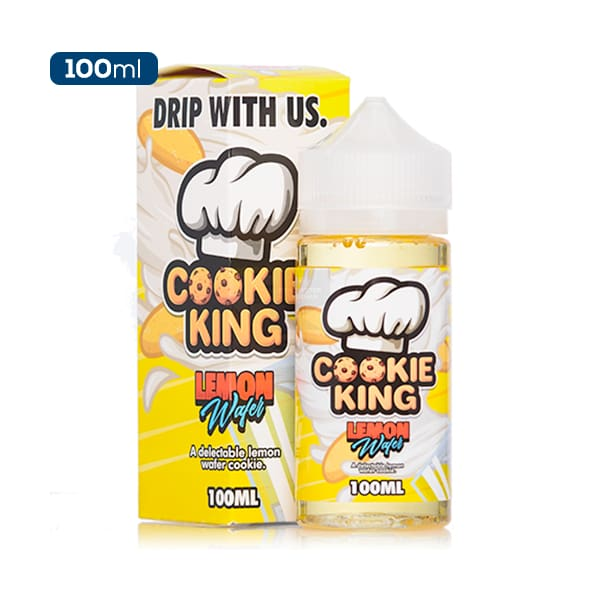 Cookie King Lemon Wafer E-Liquid
