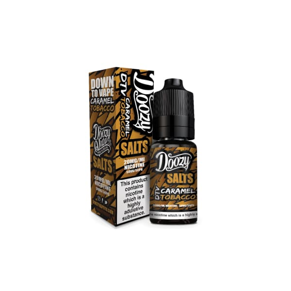 Doozy Salts - Caramel Tobacco 10Ml 20Mg Nic Nic Salts (1482215948382)