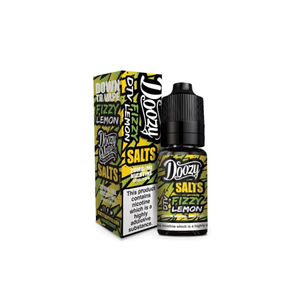 Doozy Salts - Fizzy Lemon 10Ml 20Mg Nic Nic Salts (1482216636510)