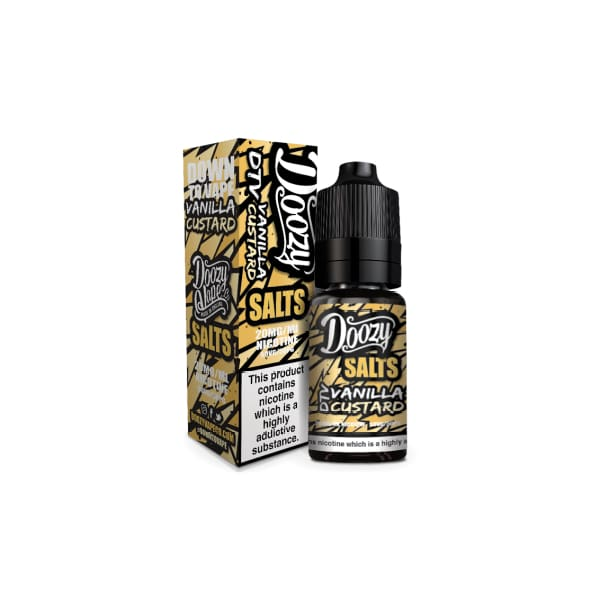 Doozy Salts - Vanilla Custard 10Ml 20Mg Nic Nic Salts