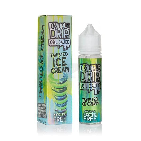 Double Drip Twisted Ice Cream 50Ml Shortfill E-Liquid (1296028401758)