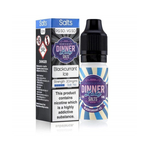 Blackcurrant Ice Nic Salt by Dinner Lady