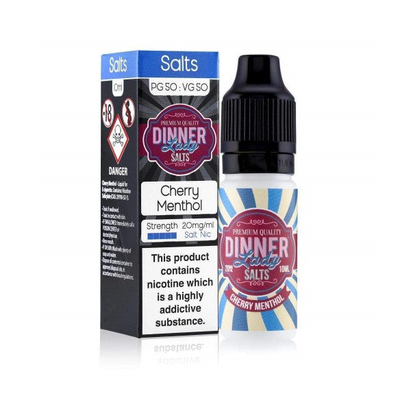 Cherry Menthol Nic Salt by Dinner Lady