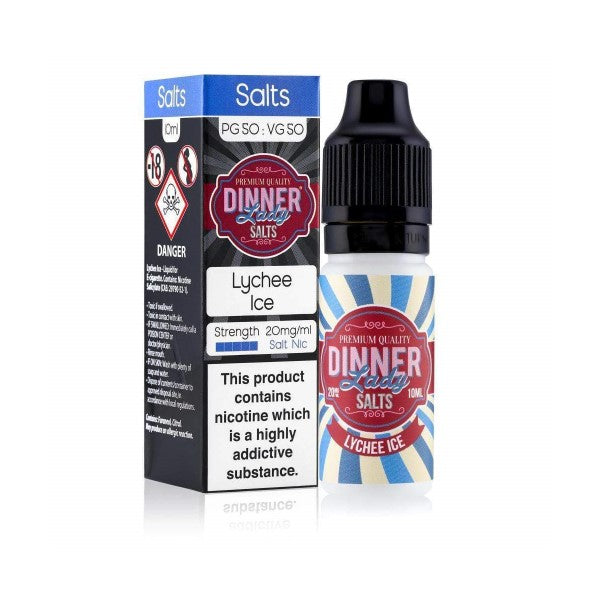 Lychee Ice Nic Salt by Dinner Lady-ManchesterVapeMan