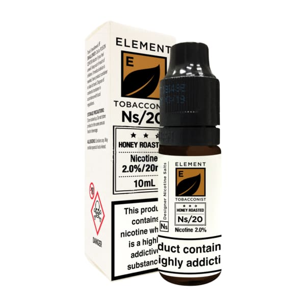 Element Honey Roasted Tobacco Nic Salt-ManchesterVapeMan