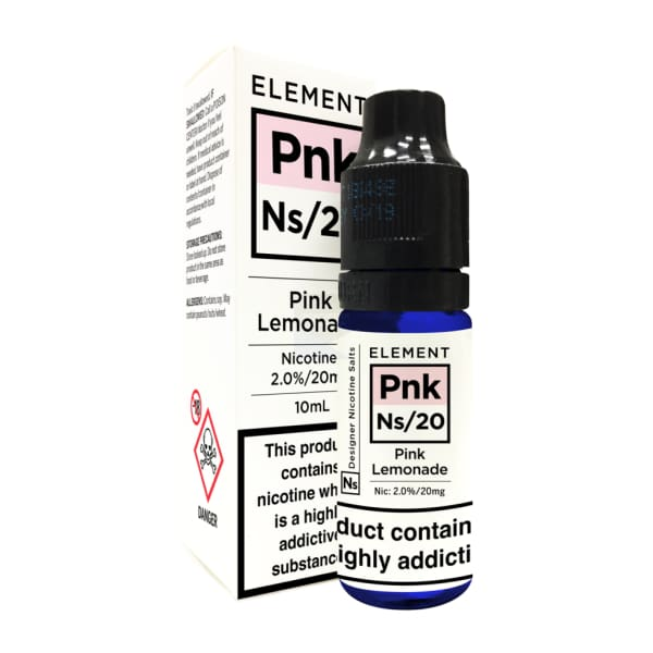 Element Pink Lemonade Nic Salt Salts