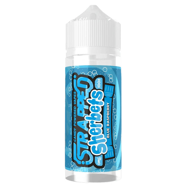 Blue Raspberry Sherbet by Strapped E-Liquids