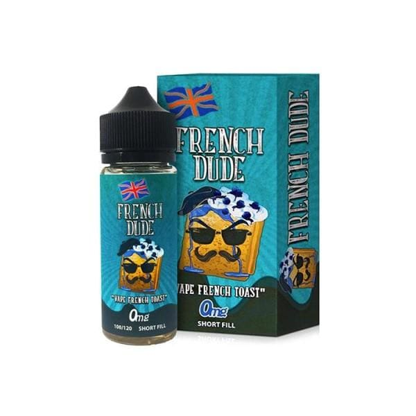 French Dude By Vape Breakfast Classics 120Ml Shortfill E-Liquid (1692548038750)