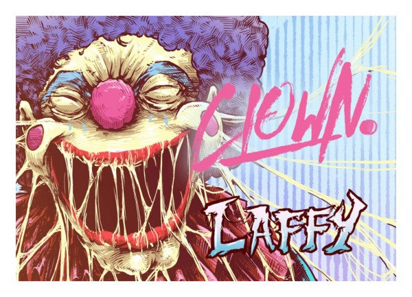 Clown E-Liquid Laffy 60ml Shortfill (3929524469854)