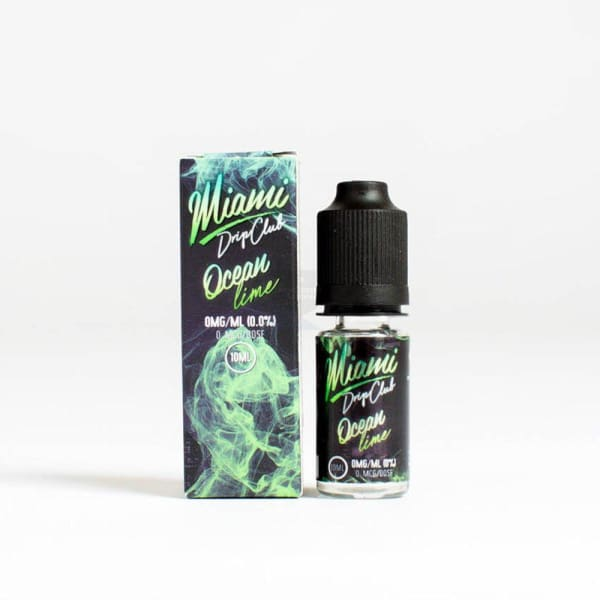 Miami Drip Club Ocean Lime E-Liquid (10802133127)